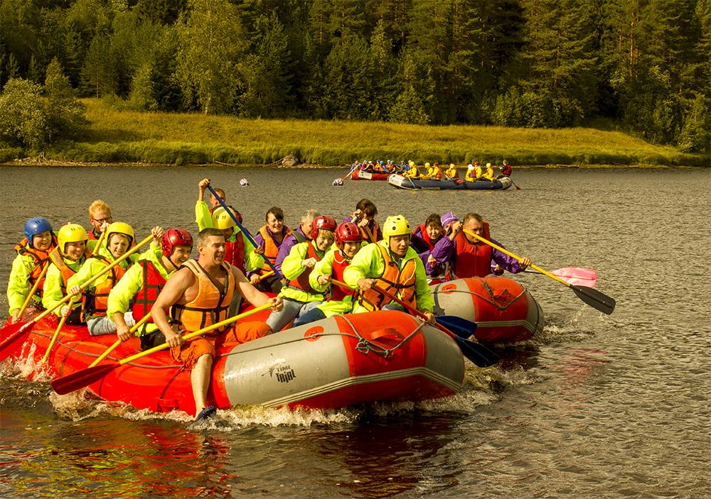 Базовые конкурсы для тимбилдинга на воде