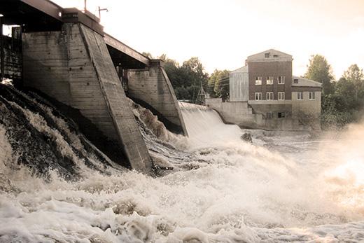 Плотина Игнойльской ГЭС-26