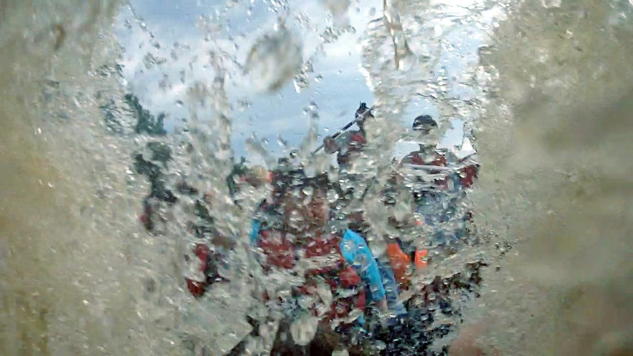Рафтинг – дело мокрое!